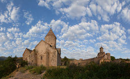 Ancient monastery of Tatev in Armenia Royalty Free Stock Photography