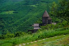 Ancient monastery Tatev, Armenia Royalty Free Stock Photography