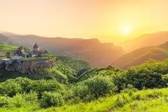 Ancient monastery. Tatev. Armenia Stock Photos
