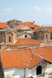 Macedonia, Pelagonia Region, Ancient Treskavec Monastery, Roofs Royalty Free Stock Photo