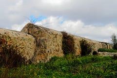 Ancient monastic enclosure Stock Photos
