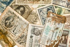 Ancient money Royalty Free Stock Photo