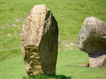 Ancient Monolithic Stones. Some ancient stones used in rituals long ago Royalty Free Stock Photography