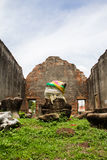 The ancient monument at the great Phra Narai Palace. Royalty Free Stock Image