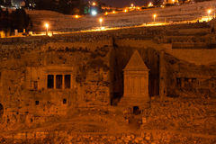Ancient monument in jerusalem Stock Photos