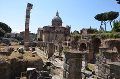 Ancient monument  in Rome,Italy. Ancient buildings in Italy, Rome Stock Photography