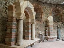 Ancient monument site felix romuliana in serbia. Close to gamzigrad near zajecar city stock photos