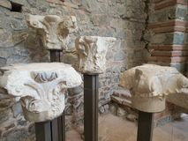Ancient monument site felix romuliana in serbia. Close to gamzigrad near zajecar city royalty free stock image