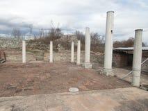 Ancient monument site felix romuliana in serbia. Close to gamzigrad near zajecar city stock photography