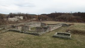 Ancient monument site felix romuliana in serbia. Close to gamzigrad near zajecar city royalty free stock photography