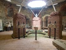 Ancient monument site felix romuliana in serbia. Close to gamzigrad near zajecar city royalty free stock photo