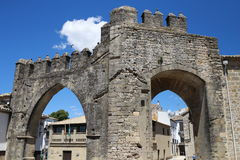 Ancient Monuments of Baeza. In the province of Jaén, Andalusia Spain. Travel to Baeza and sightseeing Stock Images