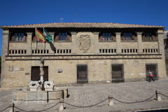 Ancient Monuments of Baeza. In the province of Jaén, Andalusia Spain. Travel to Baeza and sightseeing Stock Photo