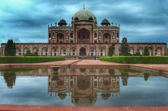 Ancient monuments, humayun tomb Royalty Free Stock Photos