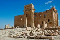 Ancient monuments located in the city of palimira in Syria Stock Images