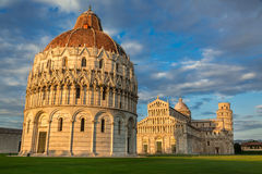 Ancient monuments in Pisa. At summer royalty free stock photography