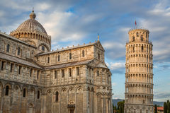 Ancient monuments in Pisa at summer Stock Photography