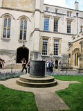 Ancient monuments of university of oxford,england Royalty Free Stock Image