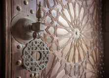 Ancient moroccan doors Royalty Free Stock Photography