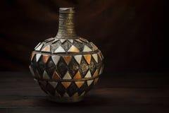 Ancient Moroccan vase Stock Image