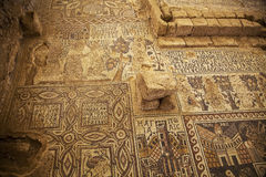 Ancient mosaic Stock Images