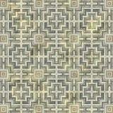 Ancient mosaic floor Stock Photography