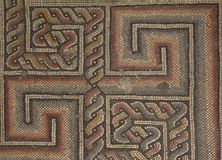 Ancient mosaic floor Royalty Free Stock Image