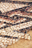 Ancient mosaic floor Stock Images
