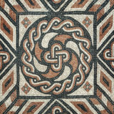 Ancient Mosaic flooring Royalty Free Stock Images