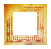 Ancient mosaic frame Stock Images