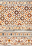Ancient mosaic on marble, India Royalty Free Stock Image