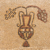 Ancient mosaic stock photography