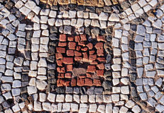 Ancient mosaic pattern - Royalty Free Stock Photos