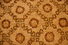 Ancient mosaic sand color Stock Images