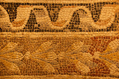 Ancient mosaic sand color Royalty Free Stock Photos