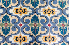Ancient mosaic tile floor Stock Image