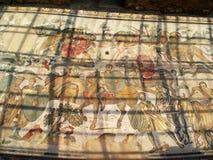 Ancient Mosaic Villa del Casale. Royalty Free Stock Photo