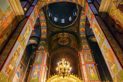 Ancient Mosaics Dome Basilica Saint Michael Cathedral Kiev Ukraine Stock Photos