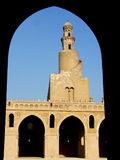 Ancient mosque. Ahmed ebn tolon ancient mosque, cairo, egypt Stock Images