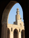Ancient mosque. Ahmed ebn tolon ancient mosque, cairo, egypt Royalty Free Stock Images