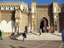Ancient mosque in Agadir, Morocco. January, 2012. stock image
