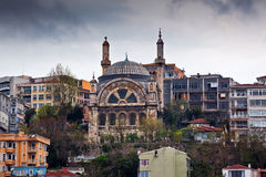 Ancient mosque in Istanbul Stock Images