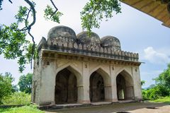 Ancient Mosque Mandu. Ancient Mosque in Mandav Mandu District Dhar, MAdhya Pradesh India . This Mosque constructed during 14 th and 15 th Century by Malwa royalty free stock image