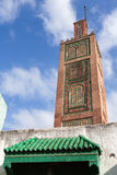 Ancient mosque in Medina. Tangier town, Morocco Stock Images