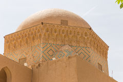 Ancient mosque in the old town of Yazd Royalty Free Stock Photos