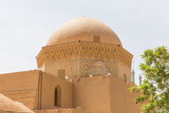 Ancient mosque in the old town of Yazd Stock Photo