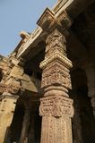 Ancient mosque in Qutub minar Royalty Free Stock Images