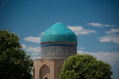 Ancient mosque. In south of Kazakhstan Stock Images
