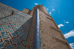 Ancient mosque. In south of Kazakhstan Royalty Free Stock Image