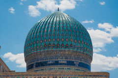 Ancient mosque. In south of Kazakhstan Stock Photo
